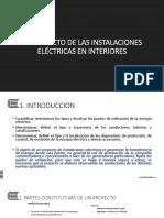 s6 Proyecto de Una Instalación Eléctrica