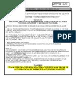 Guidelines for Entering UMS