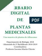 Herbario de Plantas Medicinales en Alhucemas