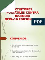 Presentación Norma Nfpa 10 Edición 2007
