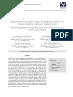 Monitoreo de La Remoción Biológica de Nitrógeno en Efluentes de Tenerías Usando Un Reactor Por Carga Secuencial