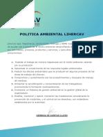 Política medio ambiental
