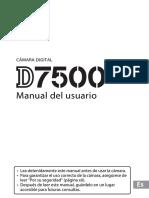 Manual de Usuario D7500