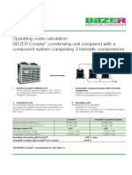 BITZER Operating Costs Calculation Kv-0802-Gb