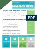 counselor news 2019
