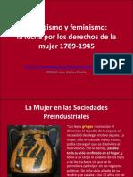 Sufragio y Feminismos Lucha Por Los Derechos de La Mujer