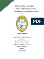 Proyecto Algebra Lineal Cadenas de Markov