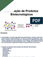 Aula Purificacao de Produtos Biotecnologicos