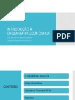 1. Introdução à Engenharia Econômica