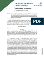 Tribunal Constitucional Competencia derecho foral Galicia BOE a 2017 15178