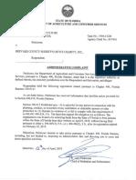 Administrative Complaint