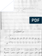 Cancion del contrabandista para piano - García