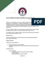 Cdec Latex Programa