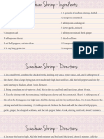 Szechuan Shrimp Recipe