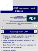 'How I Do' CMR in Valvular Heart Disease