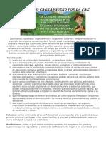Manifiesto Carranguero Por La Paz