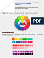 Infografia Propiedades Del Color