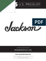 Jackson Price List 2015