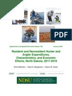 N.D. Hunting and Fishing Economics