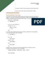 Estructuras de Control MatLab (1)