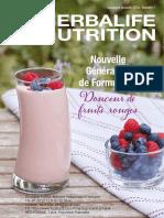 Herbalife Nutrition Catalogue produit 2019 Tahiti et Polynésie Française