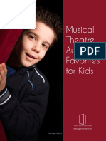 Musical Theatre Audition Favorites