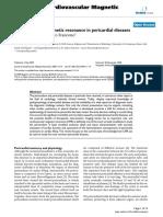 Cardiovascular Magnetic Resonance in Pericardial Diseases