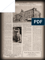 The Powers Opera House Decatur Illinois 1929 Article