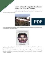Una Estructura Criminal Conformada Por Policías Hondureños Enviaba Armas a Las FARC de Colombia