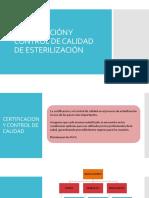 Unidad 4 Clase 4 Certificacin y Control de Calidad de Esterilizacin (1)