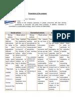 presentation of the company informatica