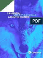5 Essential Steps for Building a Hunter Culture _ Outreach