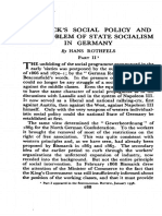 Bismarck's Social Policy and the Problem of State Socialism in Germany 2