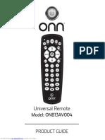 Onn Remote
