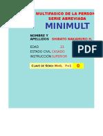 Test Minimult Sistematizado
