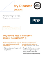 Veterinary Disaster Management_05!14!2019