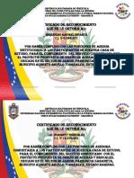 Certificado para servicio comunitario .pptx