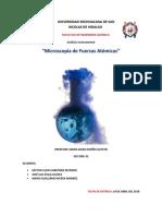 microscopia de fuerzas atomicas