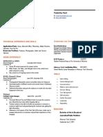 faderika hart resume