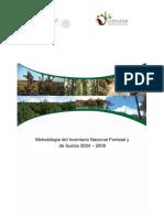 Metodologia Del Inventario Nacional Forestal de Suelos 2004-2009
