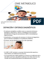 SINDROME METABOLICO pediatria