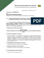 Informe Nacional Curso