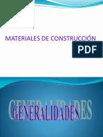Materiales de Construcción - Cemento