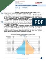 Resumo 1997415 0 Conhecimentos Gerais Do Estado de Sergipe Aula 11 Caracteristicas Da Populacao de Sergipe