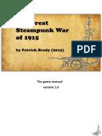 Manual Great Steampunk War 15