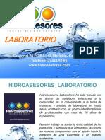 Presentacion Hidroasesores Laboratorio 2014