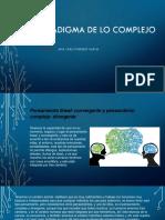 El Paradigma de Lo Complejo