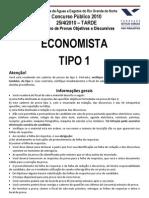 Economista - CAERN 2010 - FGV