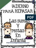 Fichas Originales Para Repasar Sumas y Restas PDF 2