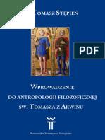 Antropologii Filozof. Tomasz z Akwinu